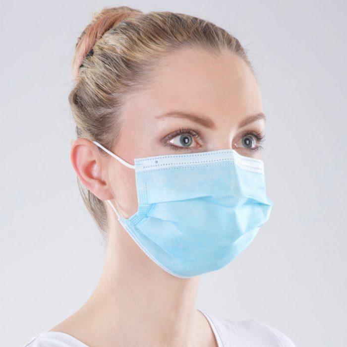 MNS Masken (Mund-Nasen-Schutz Maske) 3-lagig