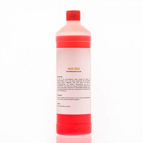 Add Red – Sanitärreiniger Sauer