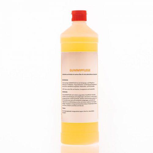Gummipflege – Reinigung und Pflege mit nativen Ölen für alle alkoholfesten Untergründe