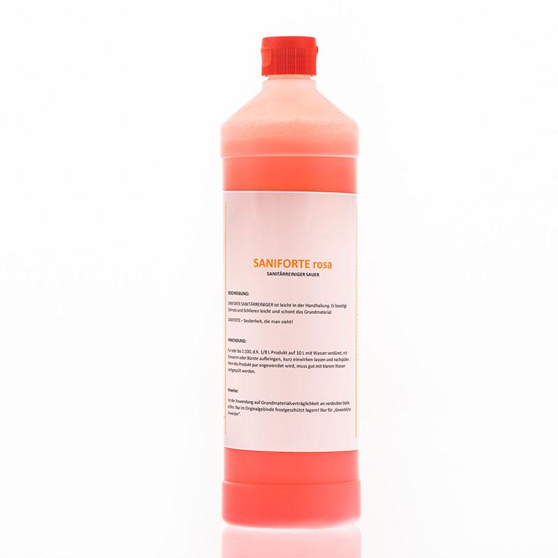 Saniforte Rosa – Sanitärreiniger Sauer