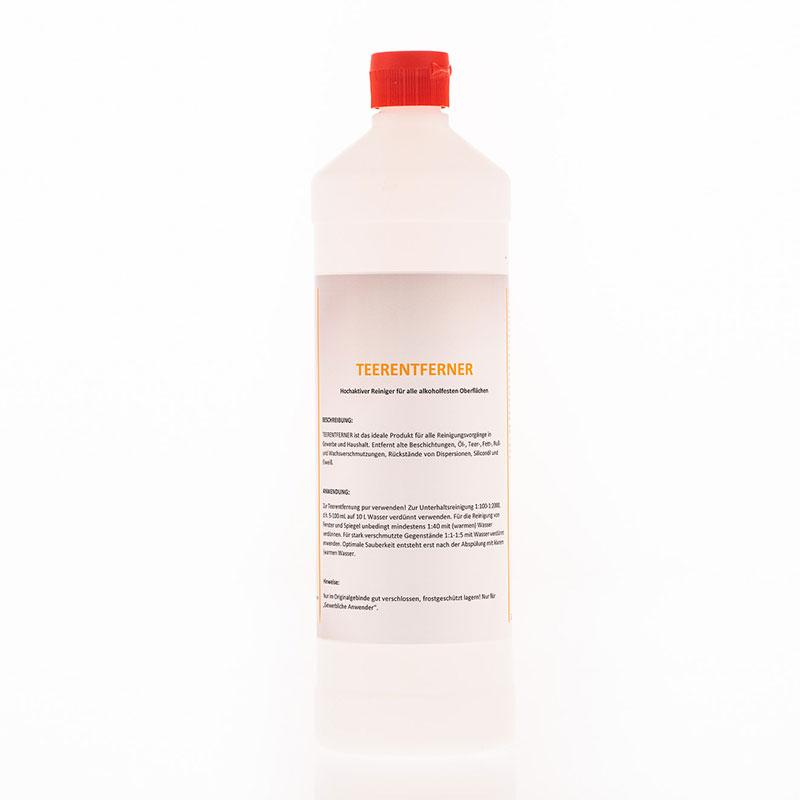 Teerentferner – Hochaktiver Reiniger für alle alkoholfesten Oberflächen